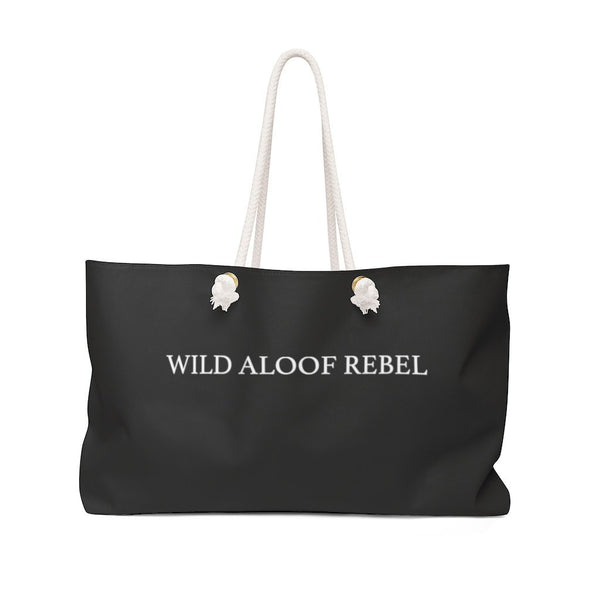 Wild Aloof Rebel, Weekender Bag - Soap Dropper