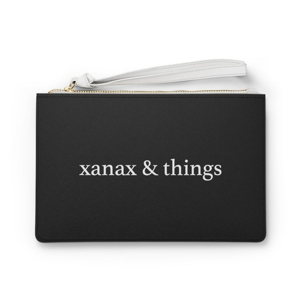 Xanax & Things, Saffiano Leather Travel Bag