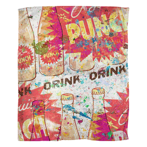 Punch - Fleece Blankets