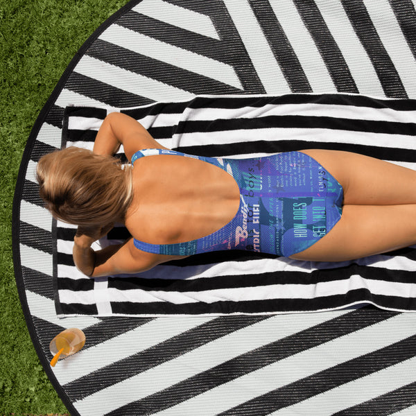 Blue Is for Boys - One-Piece Swimsuit