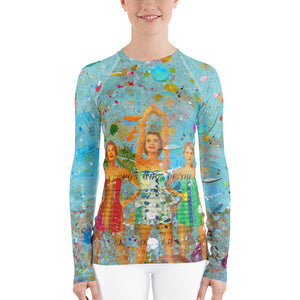 Surfs Up - Women's Rash Guard