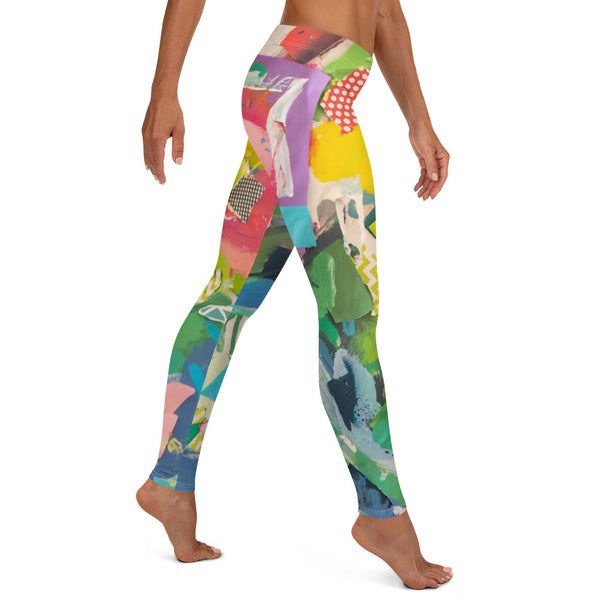 Ocean Flowers - Leggings