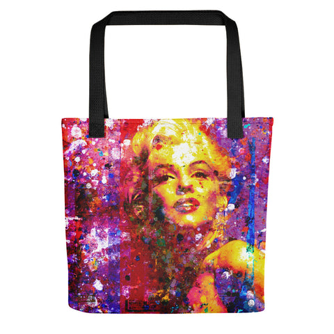 Marilyn On Purple - Tote bag