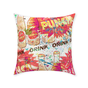 Punch - Throw Pillows