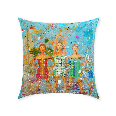 Surfs Up - Throw Pillows