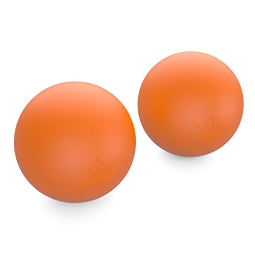 Lacrosse Balls :: New Massage Therapy Yoga Roller Ball for Deep Tissue, Trigger Point & Myofascial Release