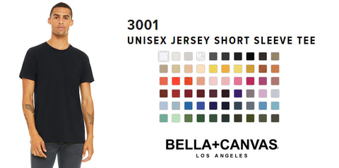 Bella Canvas 3001 premium t-shirt