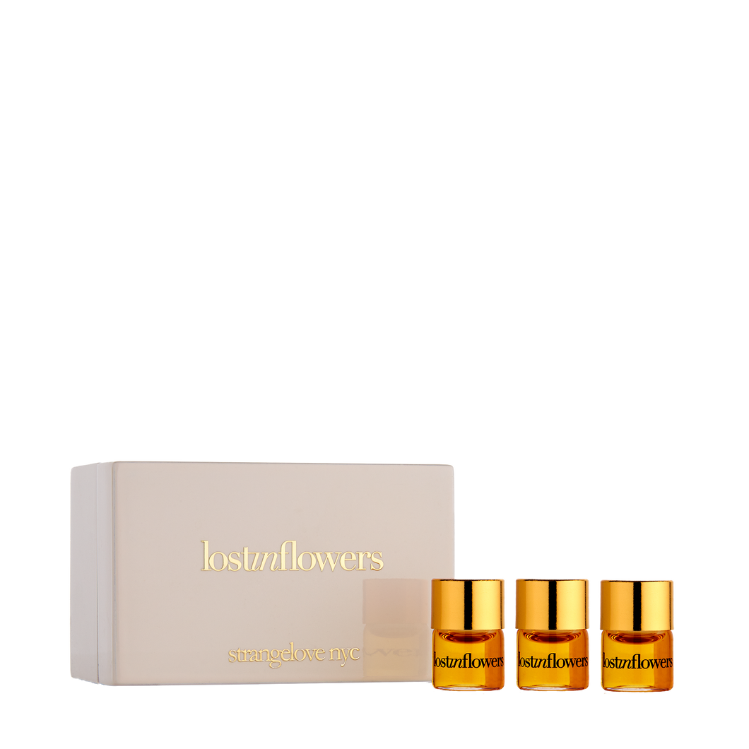 lostinflowers 1.25ml pure perfume oil / 3.75ml set of three