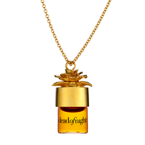 deadofnight 1.25ml pure perfume oil necklace