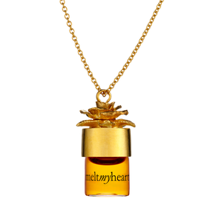 "meltmyheart 1.25ml pure perfume oil 24"" necklace"