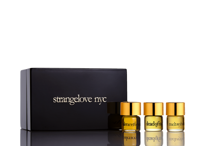 strangelove nyc perfume oil collection