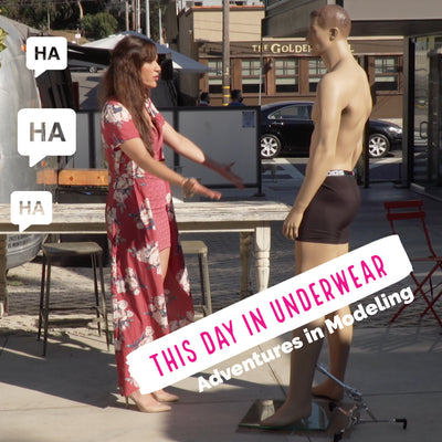 """This Day in Underwear"" IGTV Channel"