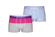 Magenta/Gray & Staple Light Blue 2 Pack