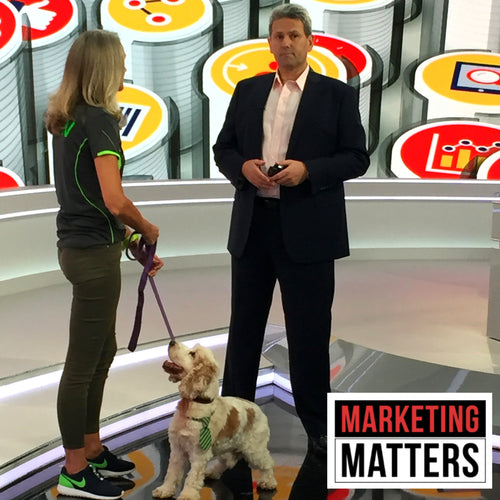 Underwater Dogs Features on SKY News Business