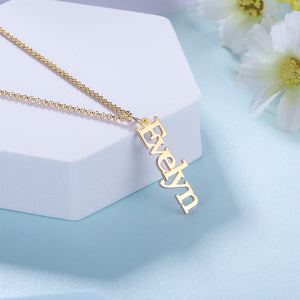Personalized Neat Vertical Necklaces - Personalized Jewellery