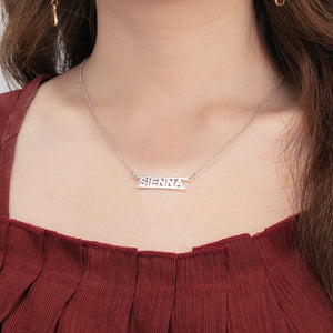 Personalized Audens Name Necklace - Personalized Jewellery
