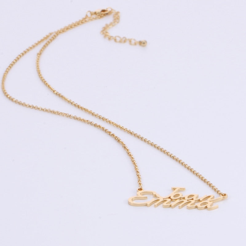 Personalized Consone Name Necklaces - Personalized Jewellery