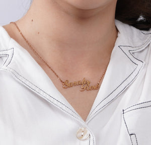Personalized Conictum Name Necklaces - Personalized Jewellery