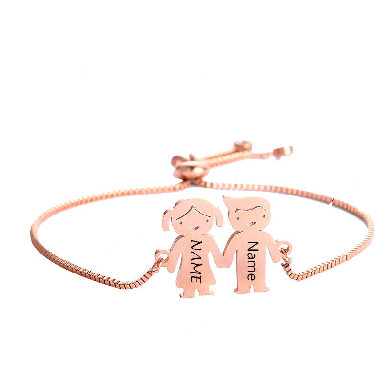 Family Name Bracelet - Personalized Jewellery