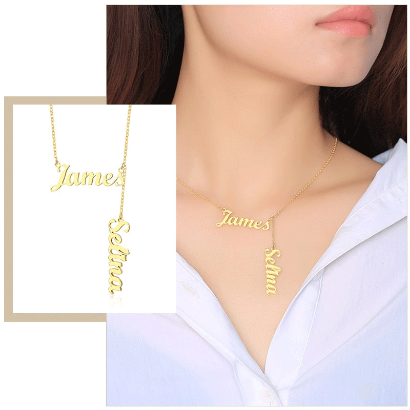 Personalized Promissum Name Necklaces - Personalized Jewellery