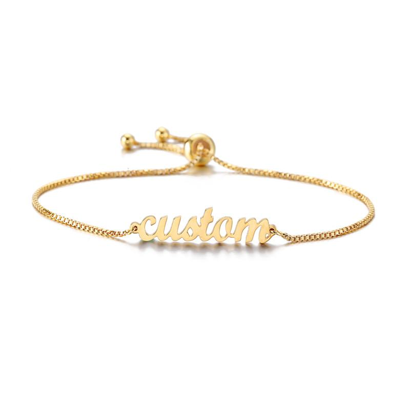 Personalized Pivot Bracelet Name - Personalized Jewellery