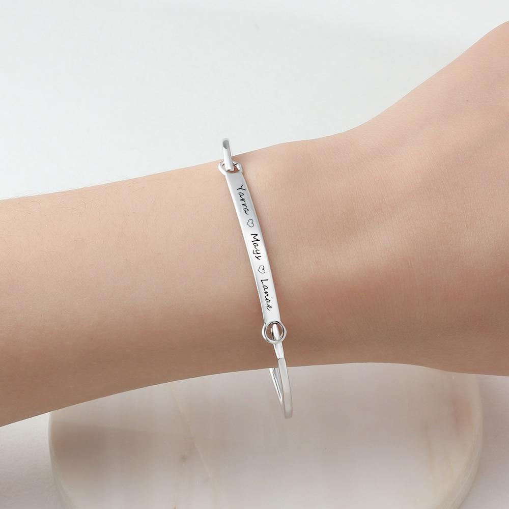 Personalized Lucet Name Bracelets - Personalized Jewellery