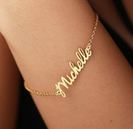 Personalized Lo-Res Name Bracelet - Personalized Jewellery