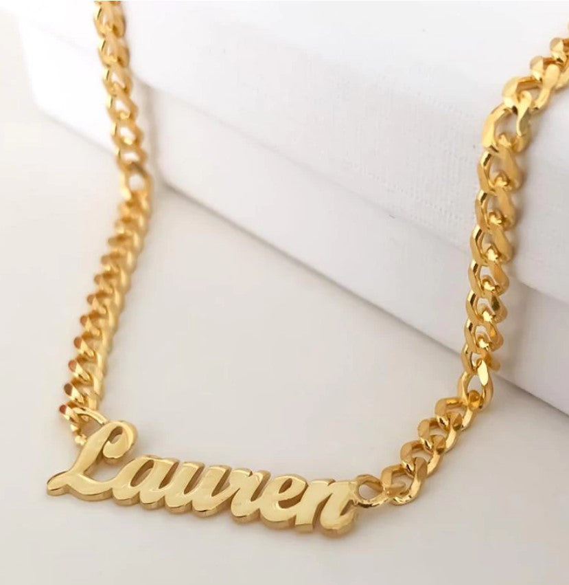 Personalize Kurva Name Necklace - Personalized Jewellery