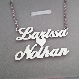 Personalized Gusta Name Necklaces - Personalized Jewellery