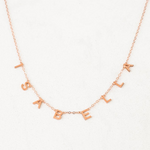 Personalized Letras Necklace - Personalized Jewellery