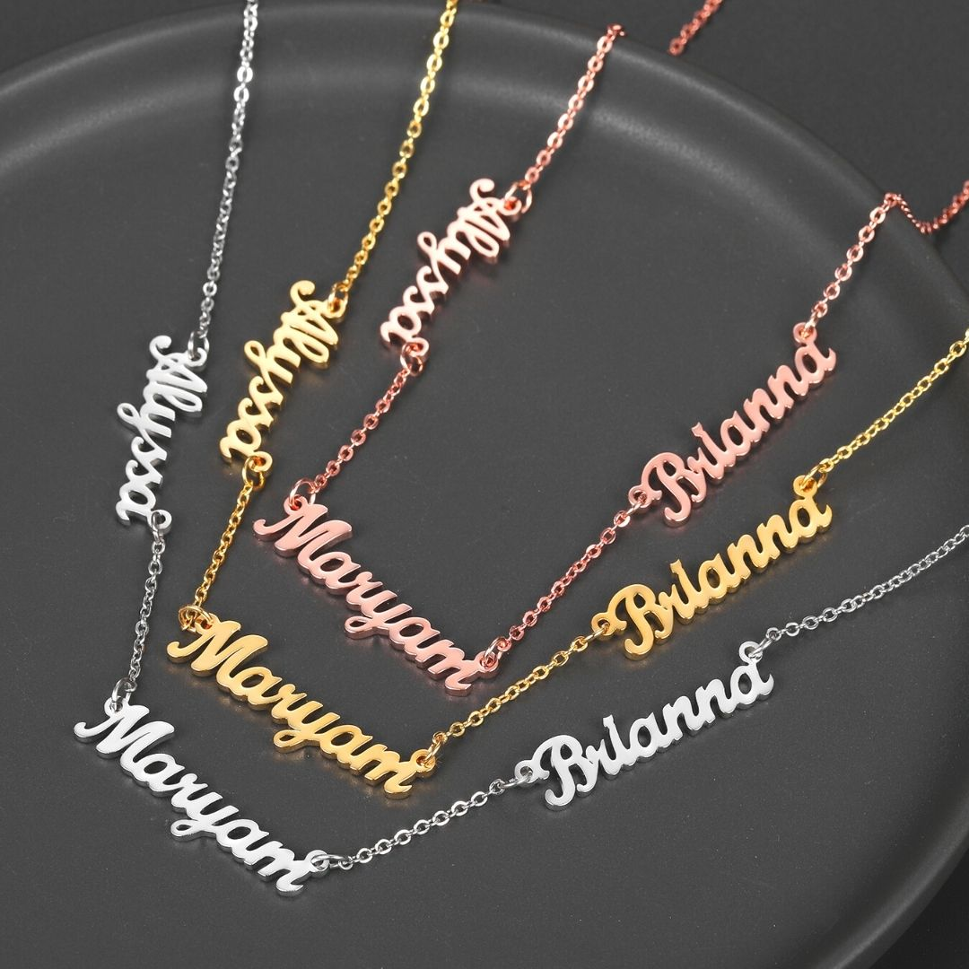 Personalized Infinitum Name Necklaces - Personalized Jewellery