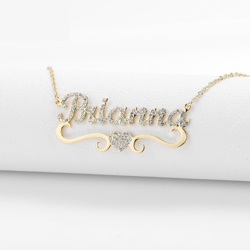 Personalized Glacies Necklace - Personalized Jewellery