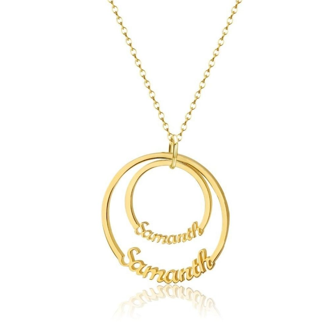 Personalized Orbis Name Necklace - Personalized Jewellery