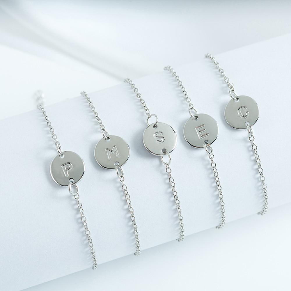Personalized Initial Snappy Bracelets - Personalized Jewellery