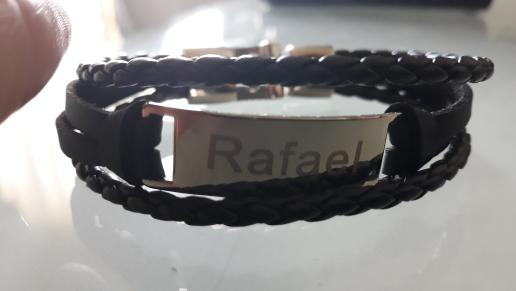 Personalized Leather Bracelet - Personalized Jewellery