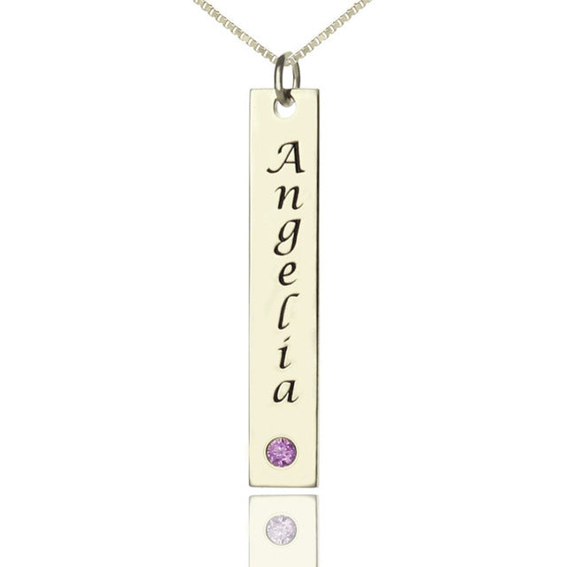 Personalized Le Bar Name Necklace - Personalized Jewellery