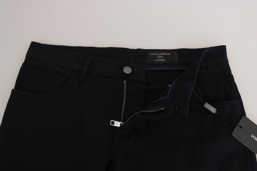 Blue Denim CLASSIC Slim Stretch Pants Jeans - EnModa.no