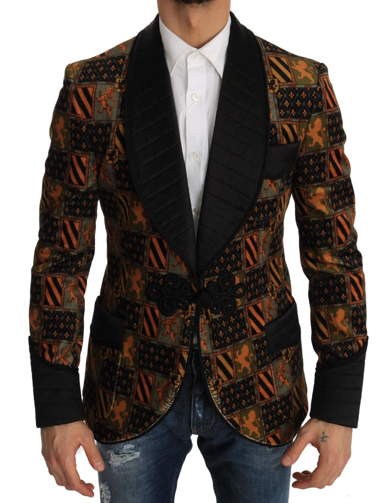 Slim Knight King Velvet Jacket - EnModa.no