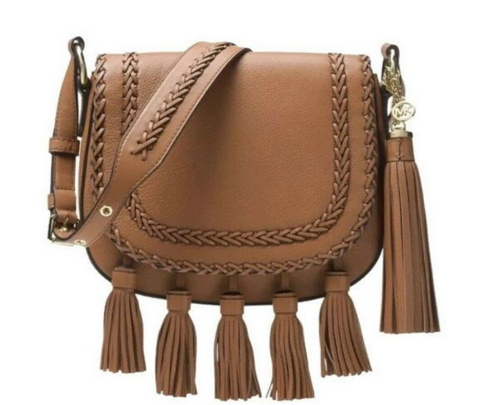 Moroccan medium Leather Cross Body Bag
