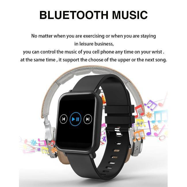 Celestech R6 Flip Health and Fitness Smart Watch - Celestech Smartwatch & Bands, Wireless Earbuds, Audio