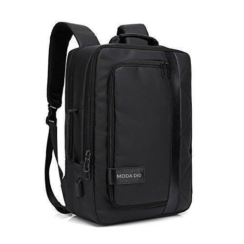 Moda Dio Ultra Light Trendy Water Resistant Laptop Unisex School Backpack Cum Briefcase with USB Charging Point - Celestech Smartwatch & Bands, Wireless Earbuds, Audio