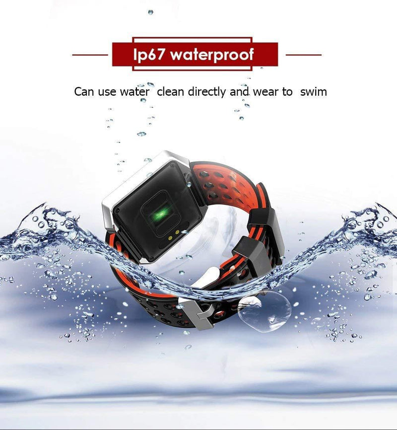 Celestech k12 Icon Waterproof Smartwatch Activity Tracker - Celestech Smartwatch & Bands, Wireless Earbuds, Audio