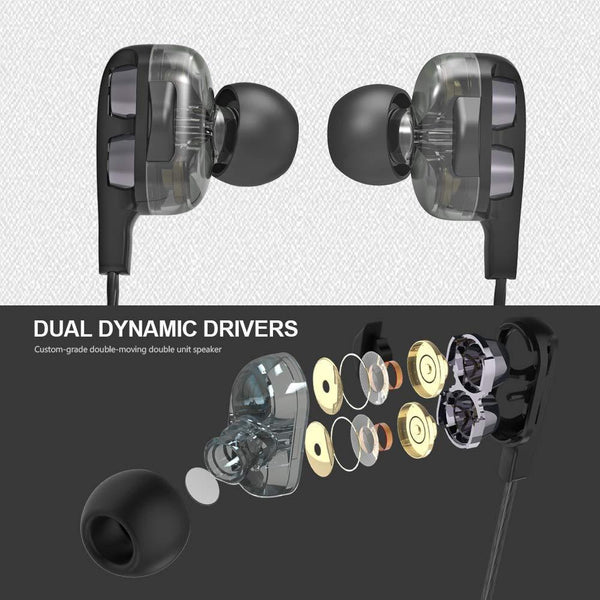 Celestech CTD4CW Earphones with in Built Mic (Black)