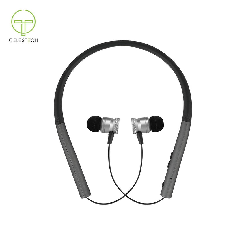 Celestech BT800 Earphone Sports Neckband Stereo Headphone with Wireless - Celestech Smartwatch & Bands, Wireless Earbuds, Audio