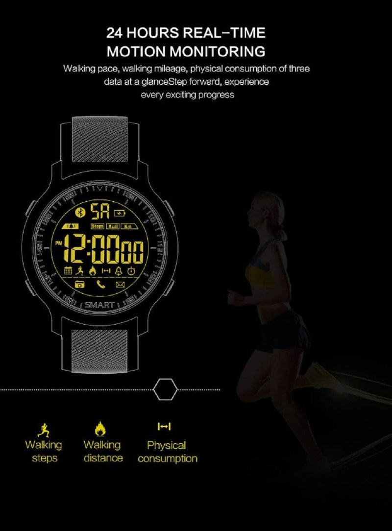 CTX18 SPORTS FITNESS SMARTWATCH - Celestech Smartwatch & Bands, Wireless Earbuds, Audio