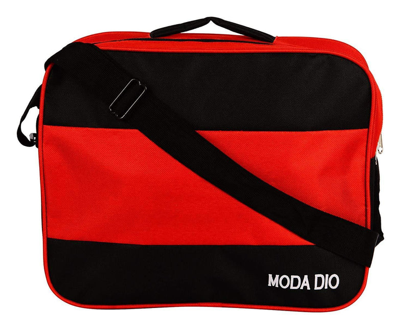 Moda Dio Nylon Red and Black Soft Sided Luggage Set - Celestech Smartwatch & Bands, Wireless Earbuds, Audio