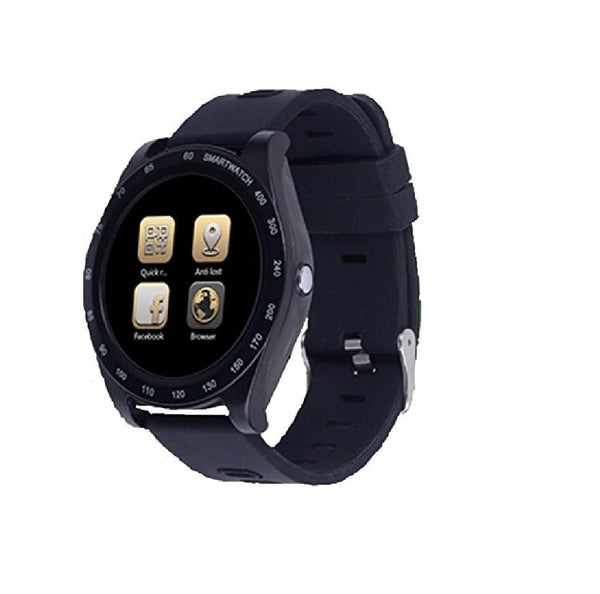 CELESTECH Bluetooth Sports Smartwatch Compatible with All Smartphones - Black