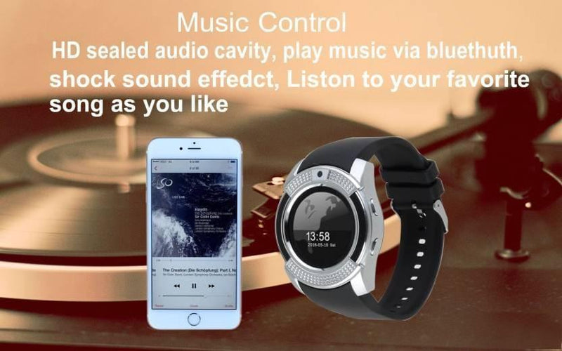 CSTV9 Health and Activity Tracker Smart Watch - Celestech Smartwatch & Bands, Wireless Earbuds, Audio