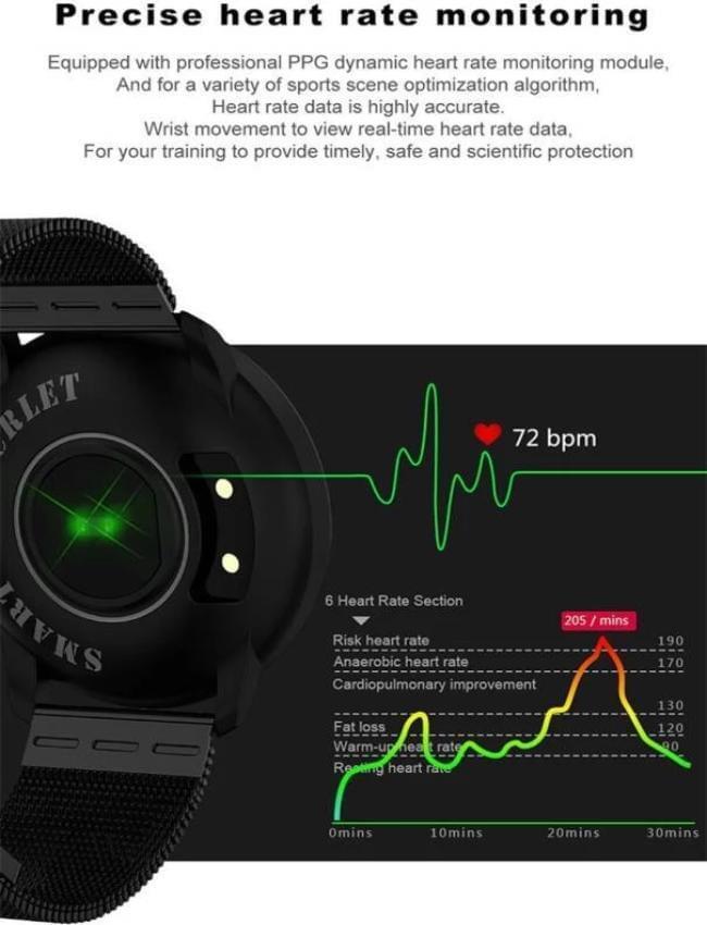 R5 Fitness Smart Bracelet (Black) - Celestech Smartwatch & Bands, Wireless Earbuds, Audio