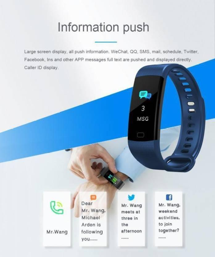 Celestech CTY5 Smart Band (Black)